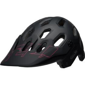 Bell Super 3 MTB Helmet matte black/cherry